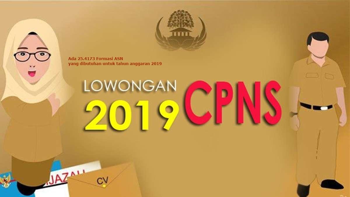 pengumuman pendaftaran cpns 2019